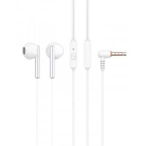 CELEBRAT Earphones G6-WH με μικρόφωνο, 14mm, 3.5mm, 1.2m, λευκά G6-WH