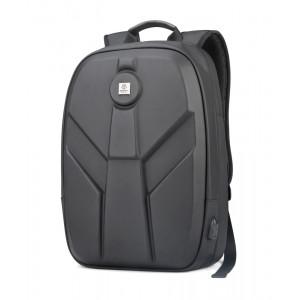 ARCTIC HUNTER τσάντα πλάτης GB00321-BK-CK με θήκη laptop, eva, μαύρο CK GB00321-BK-CK