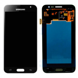 SAMSUNG Original LCD & Touch Panel για Galaxy J3 2016 J320F, Black GH97-18748C