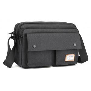 "ARCTIC HUNTER τσάντα ώμου GK0075-BK με θήκη laptop 12.1"", μαύρη GK0075-BK"
