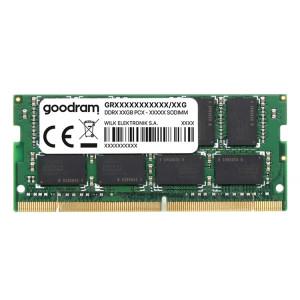 GOODRAM Μνήμη DDR4 SODimm, 16GB, 2666MHz, PC4-21300, CL19 GR2666S464L19-16G