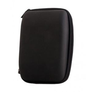 Θηκη ταξιδιου Eva, για αξεσουαρ κινητου, με φερμουαρ, Large, Black GSM000222