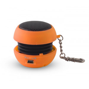 SETTY Speaker Pocket, 2.5Watt, 3.5mm jack, 180mAh, Orange GSM012633
