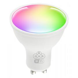 POWERTECH Smart λάμπα LED GU10-001, Wi-Fi, 5W, GU10, RGB 2700-6500K GU10-001