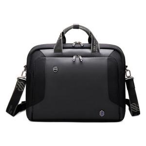 ARCTIC HUNTER τσάντα ώμου GW0004-BK με θήκη laptop, μαύρη GW0004-BK
