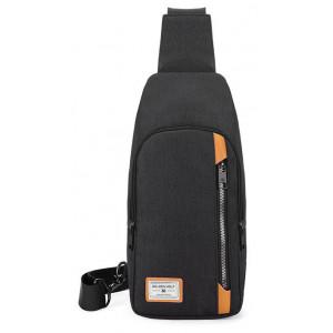 ARCTIC HUNTER Τσάντα Crossbody GXB00106-BK, αδιάβροχη, μαύρη GXB00106-BK