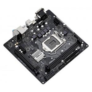 ASROCK μητρική H410M-HDV R2, 2x DDR4, s1200, USB 3.2, mATX H410M-HDV-R2