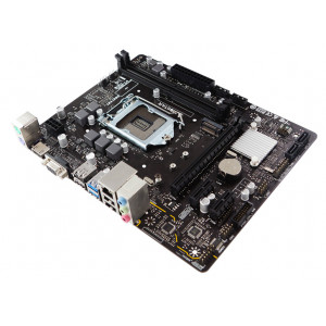 BIOSTAR Μητρική H410MH, 2x DDR4, s1200, USB 3.2, HDMI, uATX, Ver. 6.0 H410MH
