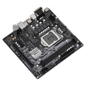 ASROCK μητρική H510M-HDV, 2x DDR4, s1200, USB 3.2, mATX H510M-HDV