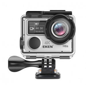 EKEN Action Cam H6s, Ultra HD 4K, 14MP, WiFi, EIS, Waterproof, Silver H6S-SL