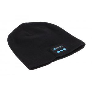 Σκουφος Classic με bluetooth ενσωματωμενα ακουστικα, Black HAT-002