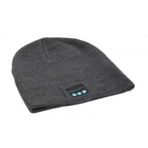 Σκουφος Classic με bluetooth ενσωματωμενα ακουστικα, Gray HAT-003