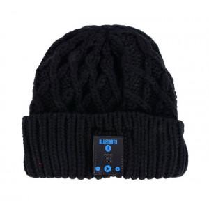 Σκουφος Diamonds με bluetooth ενσωματωμενα ακουστικα, Black HAT-005