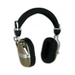 EPOK Headphones HDP2 Retro, 115dB, 2m, χρυσό HDP2