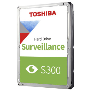 TOSHIBA σκληρός δίσκος Surveillance S300, 1TB, 64MB, 5700RPM, 3.5 HDWV110UZSVA