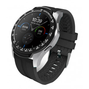 HIFUTURE Smartwatch HiFIT, 1.28 LCD, IP67, heart rate monitor, μαύρο HIFIT-BK
