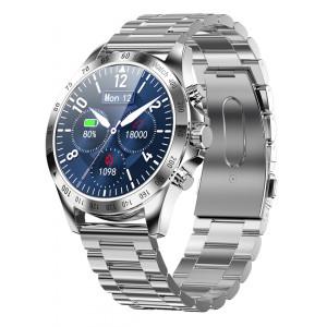 HIFUTURE smartwatch HiGEAR, 1.3, IP68, heart rate monitor, ασημί HIGEAR-SL