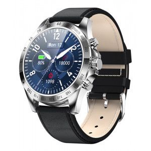 HIFUTURE smartwatch HiGEAR, 1.3, IP68, heart rate monitor, ασημί HIGEARL-SL