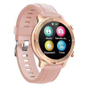HIFUTURE smartwatch HiWAVE, 1.3, IP68, heart rate monitor, ροζ χρυσό HIWAVE-RG