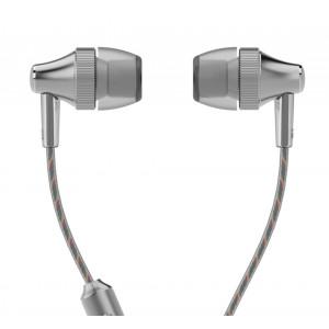 UIISII Ακουστικά Handsfree HM6 Little Gear, ασημί HM6-S