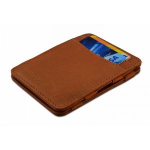 HUNTERSON έξυπνο πορτοφόλι HU-MW-CS1-RFID, δερμάτινο, καφέ HU-MW-CS1-RFID