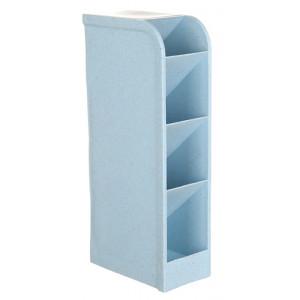 Μολυβοθήκη HUH-0004, 20.5 x 9.2 x 5.1cm, μπλε HUH-0004