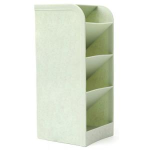Μολυβοθήκη HUH-0006, 20.4 x 9.1 x 8cm, πράσινη HUH-0006