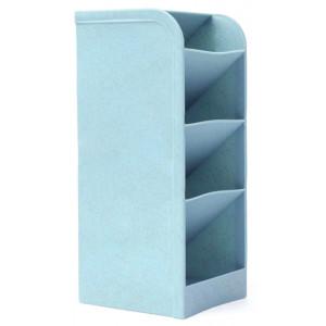 Μολυβοθήκη HUH-0007, 20.4 x 9.1 x 8cm, μπλε HUH-0007