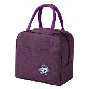 Ισοθερμική τσάντα HUH-0011, 7L, αδιάβροχη, 23x13x21cm, μωβ HUH-0011