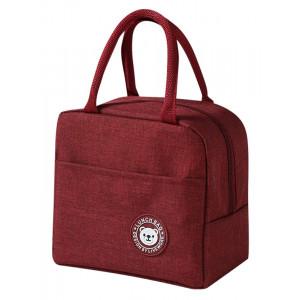 Ισοθερμική τσάντα HUH-0012, 7L, αδιάβροχη, 23x13x21cm, κόκκινη HUH-0012