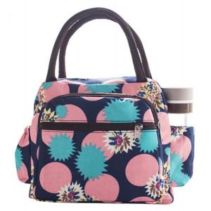 Γυναικεία τσάντα HUH-0013, 25 x 11 x 21cm, αδιάβροχη, εμπριμέ HUH-0013
