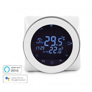 Έξυπνος Θερμοστάτης Καλοριφέρ HY04, WiFi, internet Control, touch screen HY04