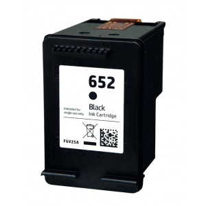Συμβατο Inkjet για HP 652 XL, 19ml, Black INK-H652XLB