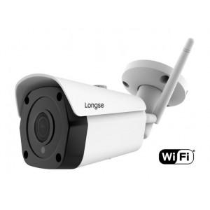 LONGSE IP WiFi Bulet Κάμερα, 1080p, 2MP 3.6mm, αδιάβροχη, μεταλλική IPP-008