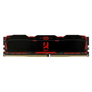 GOODRAM μνήμη DDR4 UDIMM IR-X3200D464L16SA/8G, 8GB, 3200MHz, 16-20-20 IR-X3200D464L16SA-8G