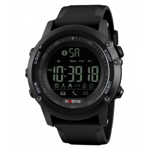 INTIME Smartwatch SW-V01, Pedometer, Remote Camera, αδιάβροχο IT-001