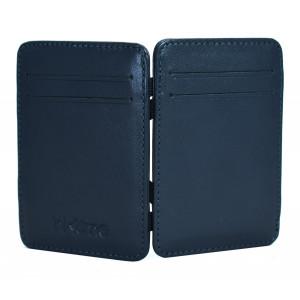 INTIME έξυπνο πορτοφόλι IT-014, RFID, δερμάτινο, μπλε IT-014