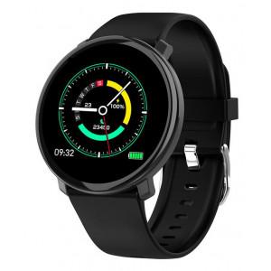 ΙΝΤΙΜΕ Smartwatch M31, 1.3 έγχρωμο, IP67, HR & Blood pressure, μαύρο IT-022
