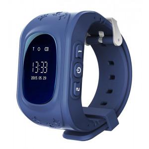 INTIME GPS Παιδικό ρολόι χειρός IT-023, SOS, βηματομετρητής, σκούρο μπλε IT-023