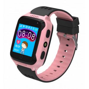 INTIME GPS Παιδικό ρολόι χειρός IT-027, SOS, βηματομετρητής, ροζ IT-027