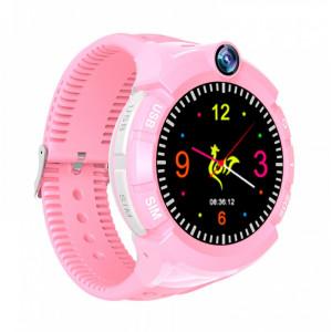 INTIME GPS Παιδικό ρολόι χειρός IT-028, SOS, βηματομετρητής, ροζ IT-028