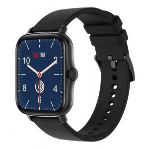 ΙΝΤΙΜΕ smartwatch P8 Plus 1.69 έγχρωμο IP67, HR & Blood pressure, μαύρο IT-036