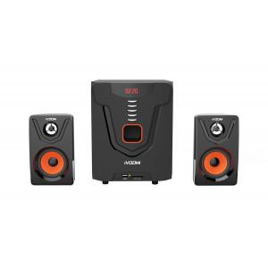 IVOOMi ηχεια iVO-2580 SUF 2.1ch, USB/SD/FM, 40W + 10Wx2, τηλεχειριστηριο IVO-2580SUF