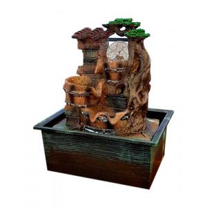 Συντριβάνι Feng Shui JK-180-008 Roof, 26 x 21 x 15.5cm JK-180-008