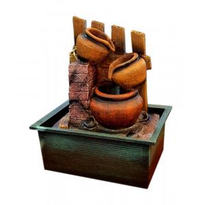 Συντριβάνι Feng Shui JK-180-009 Stone wall, 26.5 x 20 x 15.5cm JK-180-009