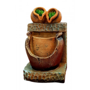 Συντριβάνι Feng Shui JK-180-012 Broken pot, 27 x 16.5 x 15cm JK-180-012