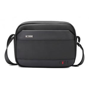ARCTIC HUNTER τσάντα ώμου K00058-BK, με θήκη tablet, μαύρη K00058-BK