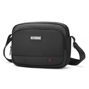 ARCTIC HUNTER τσάντα ώμου K00059-BK, με θήκη tablet, μαύρη K00059-BK