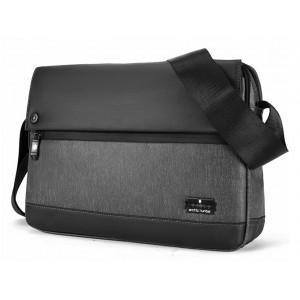 ARCTIC HUNTER τσάντα ώμου K00089-BK, με θήκη tablet, μαύρη K00089-BK