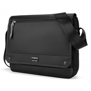 ARCTIC HUNTER τσάντα ώμου K00093-BK, με θήκη laptop, μαύρη K00093-BK